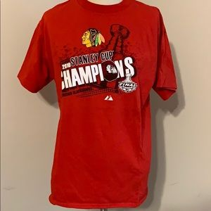 2010 Stanley Cup champions Chicago Blackhawks tee